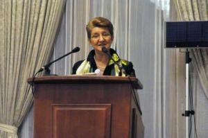 Doamna Lavinia Spandonide, Președinte al Fundației Spandugino