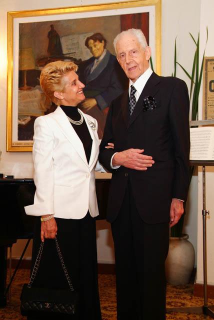 Doamna Lavinia Spandonide și Medicul Theodor Spandonide