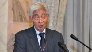 Domnul Eiji Hattori, Președinte de Onoare al Federației Mondiale a Asociațiilor, Centrelor și Cluburilor UNESCO
