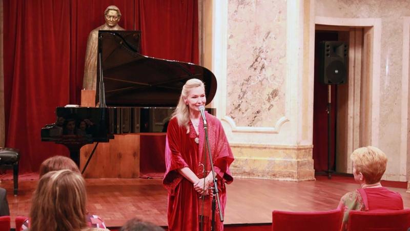 Elizabeth Sombart și Éric de Rus la Palatul Cantacuzino