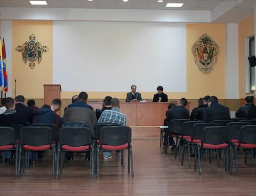 Éric de Rus la Institutul Greco – Catolic din Oradea