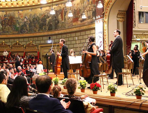 Mihaela Martin şi Frans Helmeron, în concert alături de Camerata Regală la Ateneul Român