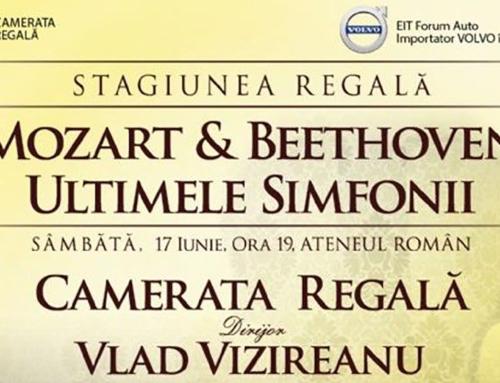 Regal simfonic la Ateneul Român: Mozart & Beethoven – Ultimele Simfonii. Camerata Regală în ultimul concert din stagiune